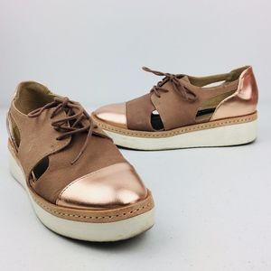 Steven Steve Madden Pippar Platform Rose Shoes
